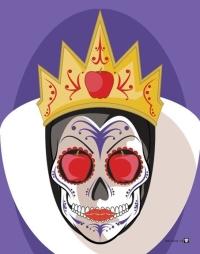 disney-villains-suger-skull-prints-evil-queen