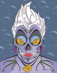 disney-villains-suger-skull-prints-ursula