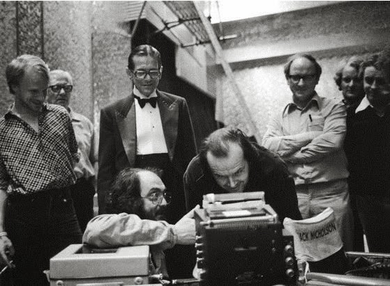 Behind the Scenes from The Shining (2)