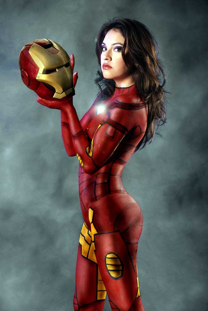 cosplay-ironman-bodypaint