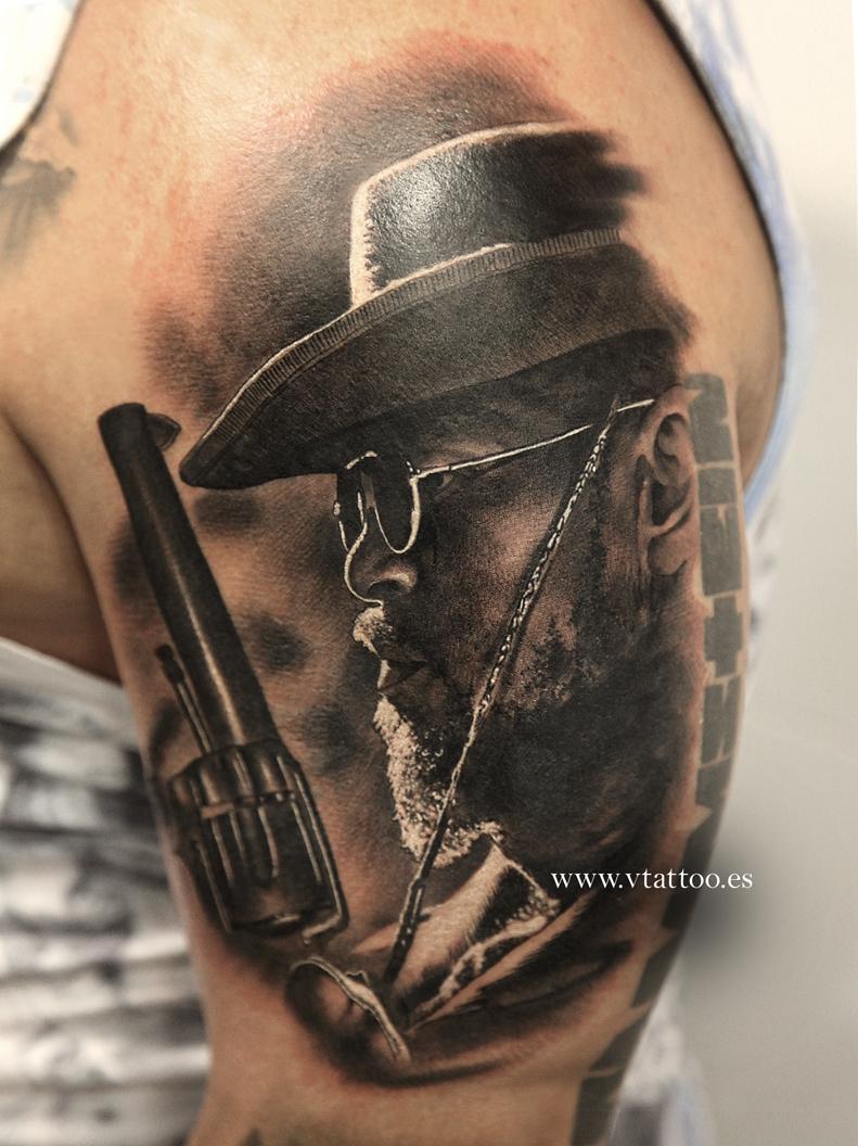 django_v_tattoo_quentin_tarantino
