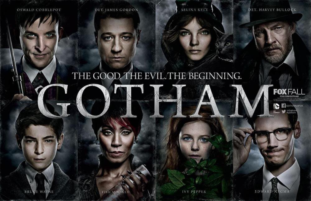 Gotham-Comic-Con-serie-serielizados