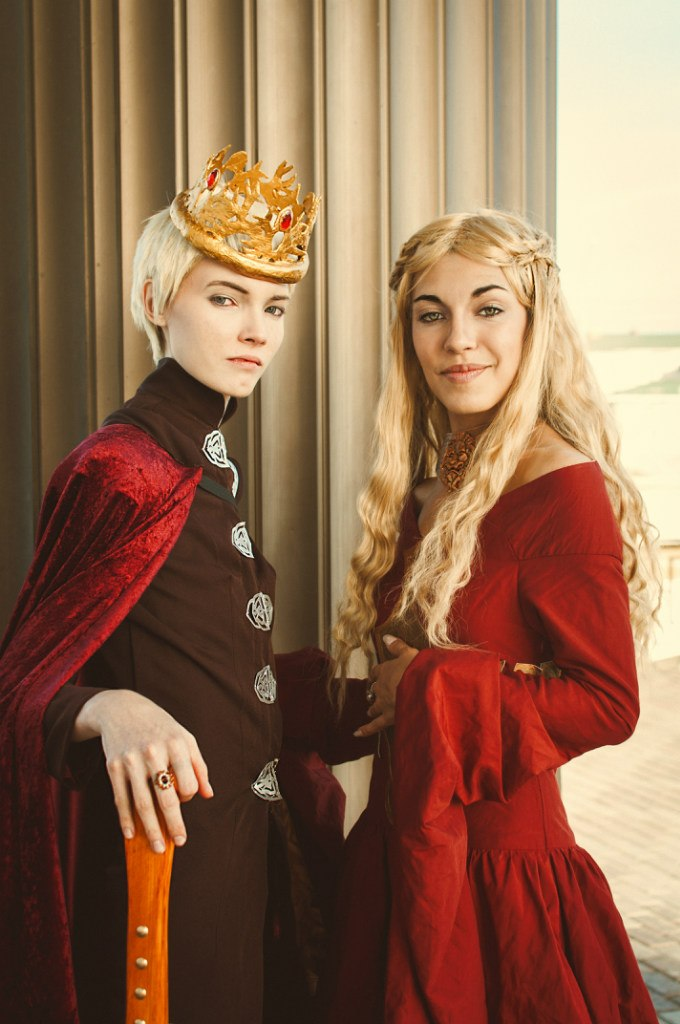 king_joffrey_and_queen_cersei_by_shredinger_cat-d6k0uc9