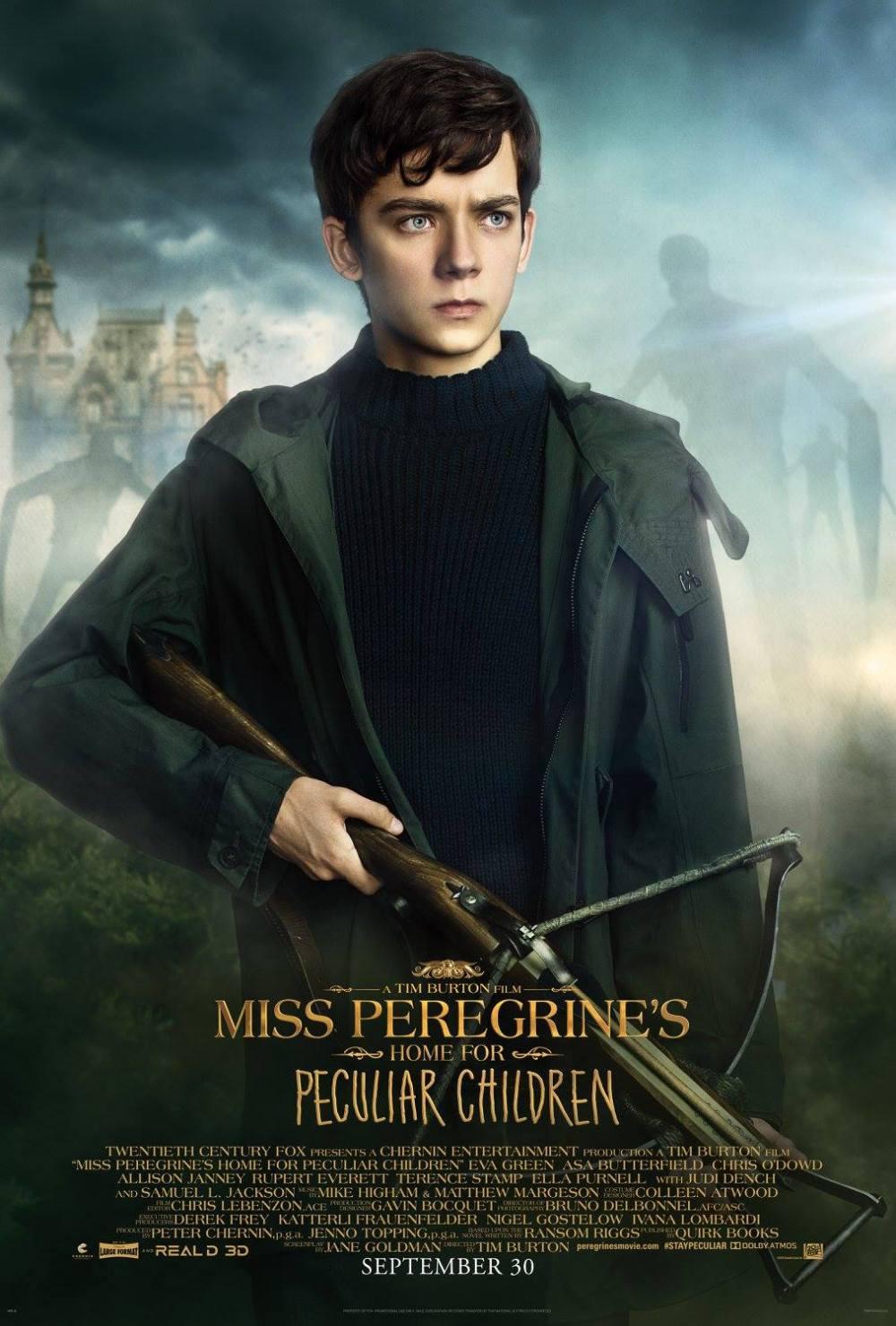 El hogar de Miss Peregrine Poster (2)