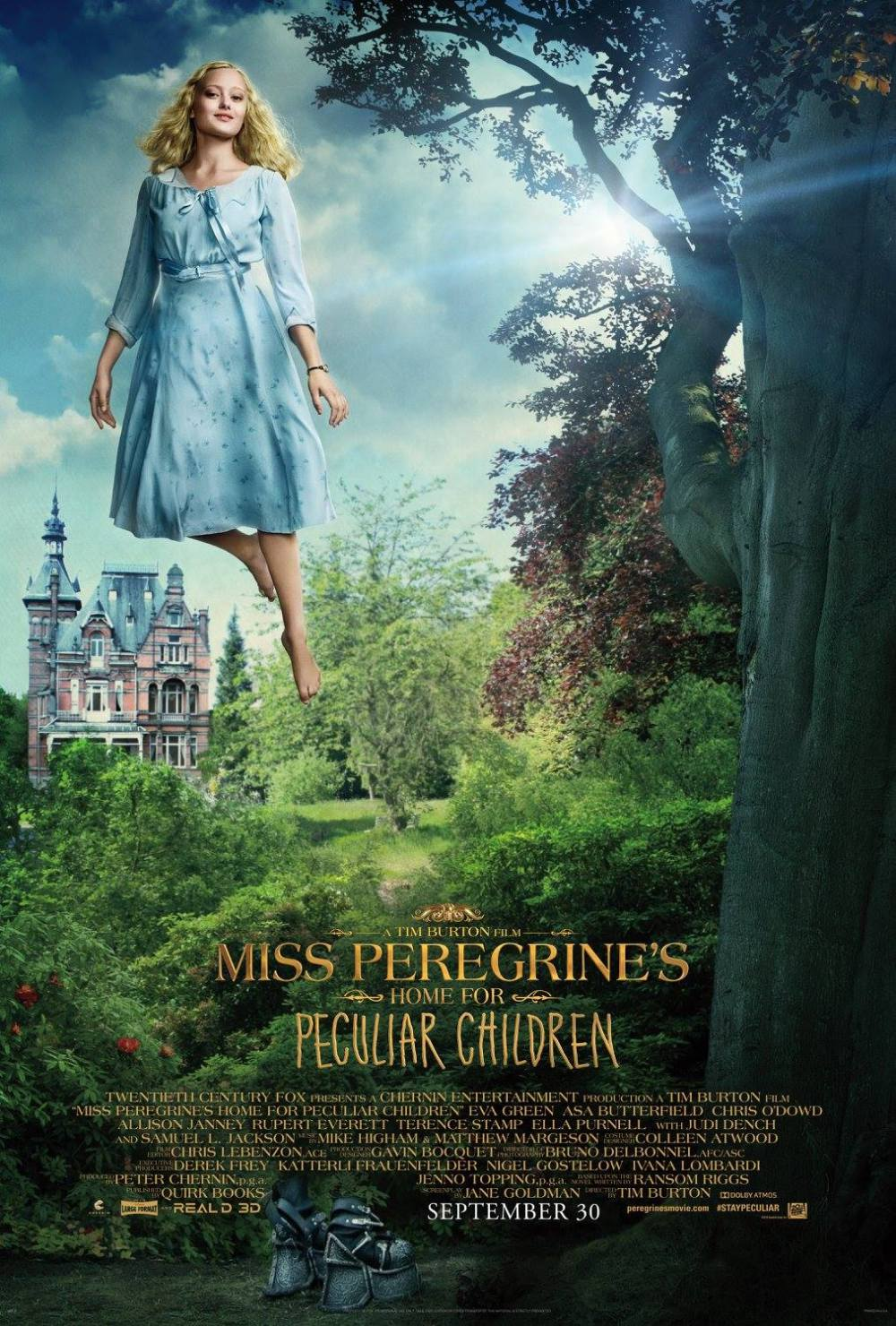 El hogar de Miss Peregrine Poster (3)