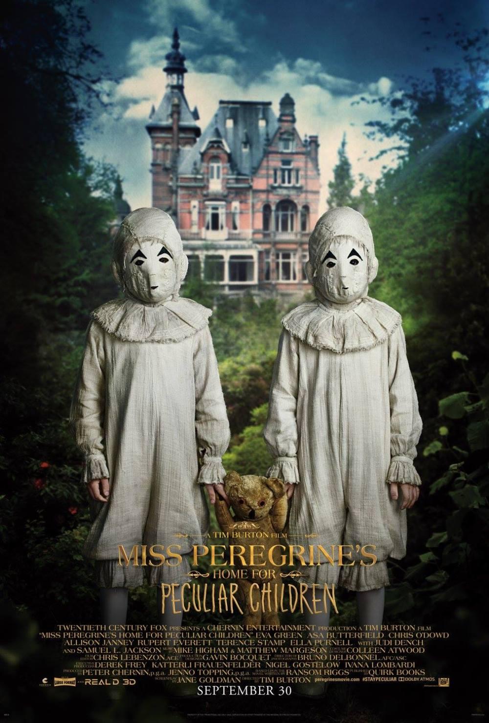 El hogar de Miss Peregrine Poster (6)
