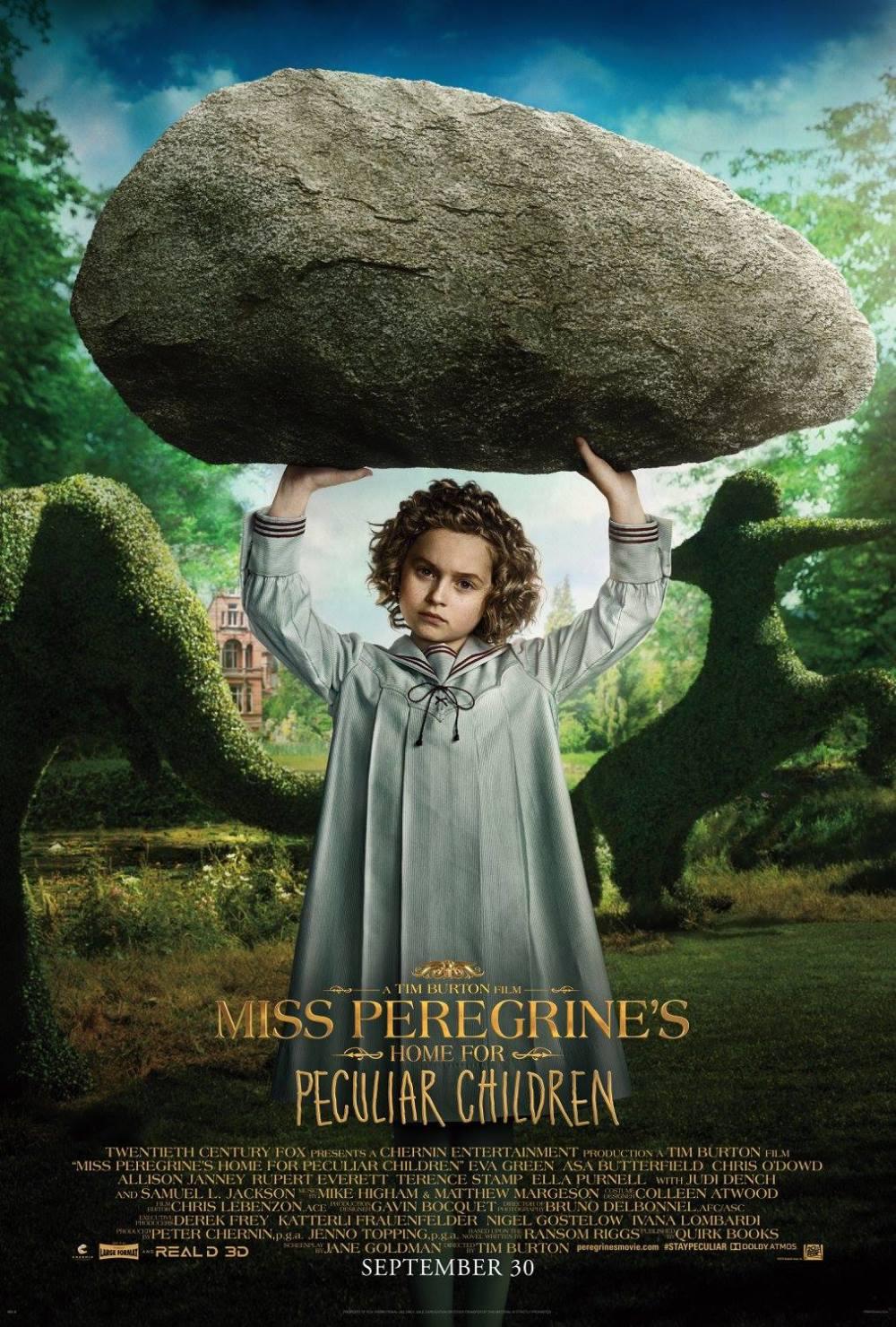El hogar de Miss Peregrine Poster (7)