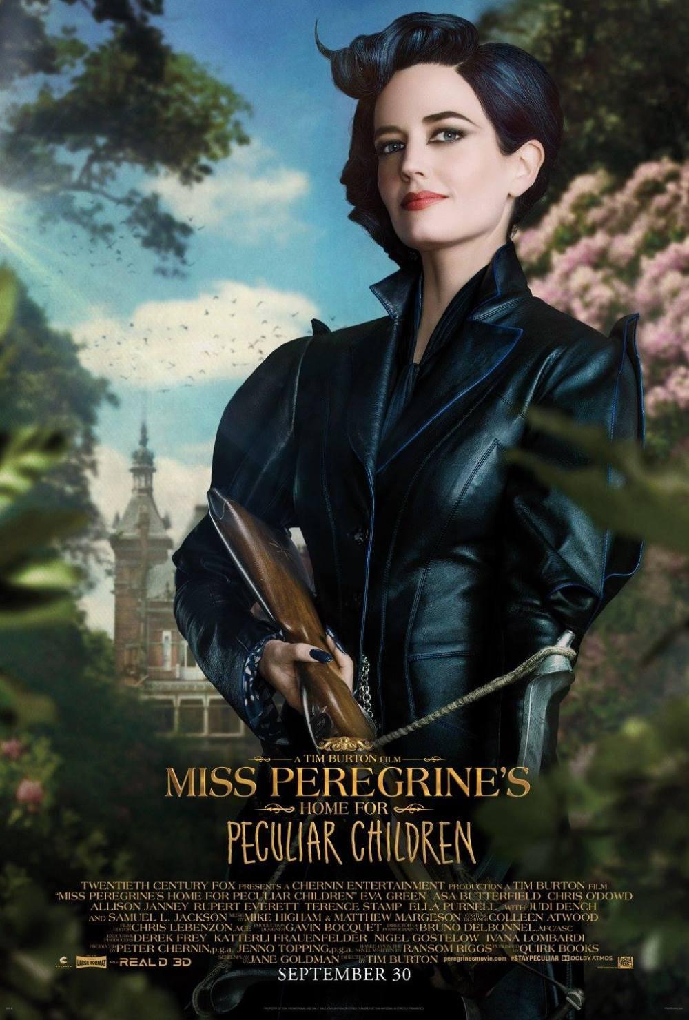 El hogar de Miss Peregrine Poster